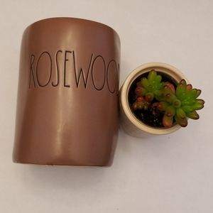 """Rae Dunn """"Rosewood"""" Candle 🕯"""
